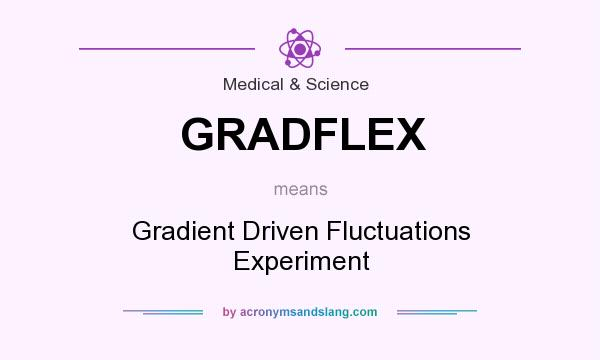 What does GRADFLEX mean? It stands for Gradient Driven Fluctuations Experiment