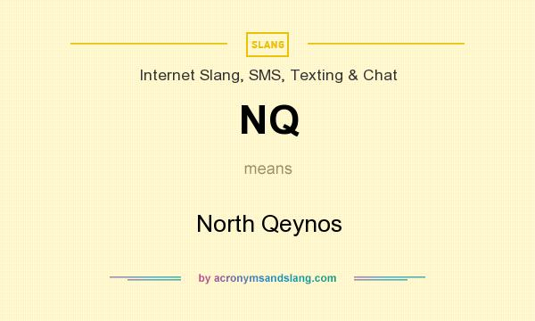 What does NQ mean? It stands for North Qeynos