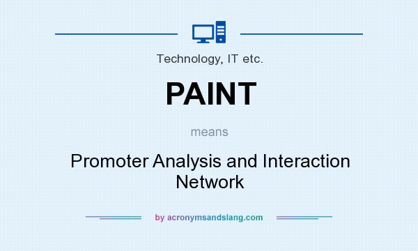 What does PAINT mean? It stands for Promoter Analysis and Interaction Network