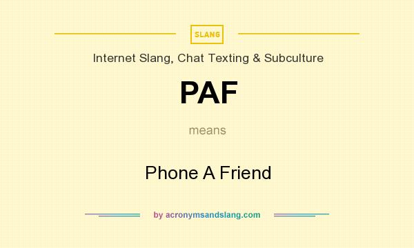 What Does Paf Mean