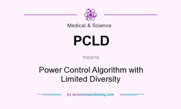 What does PCLD mean? It stands for Power Control Algorithm with Limited Diversity