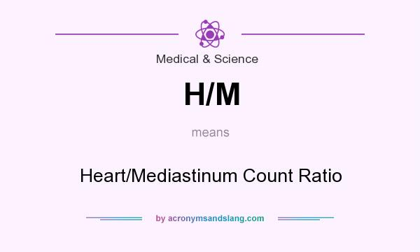 What does H/M mean? It stands for Heart/Mediastinum Count Ratio