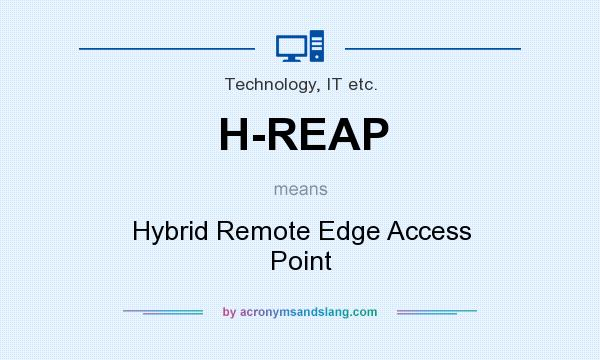 What does H-REAP mean? It stands for Hybrid Remote Edge Access Point