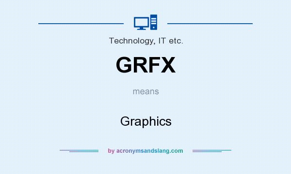 What does GRFX mean? It stands for Graphics