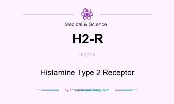 What does H2-R mean? It stands for Histamine Type 2 Receptor
