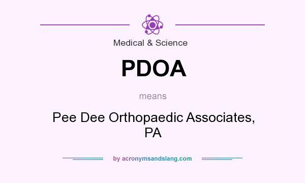 PDOA - Pee Dee Orthopaedic Associates, PA in Medical