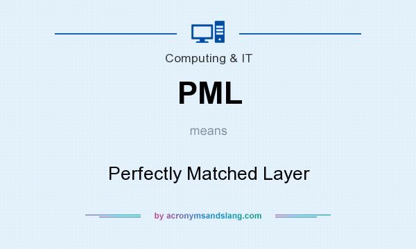 What does PML mean? It stands for Perfectly Matched Layer