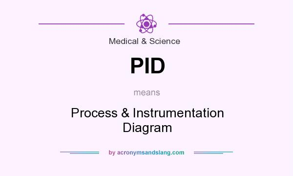 What does PID mean? It stands for Process & Instrumentation Diagram