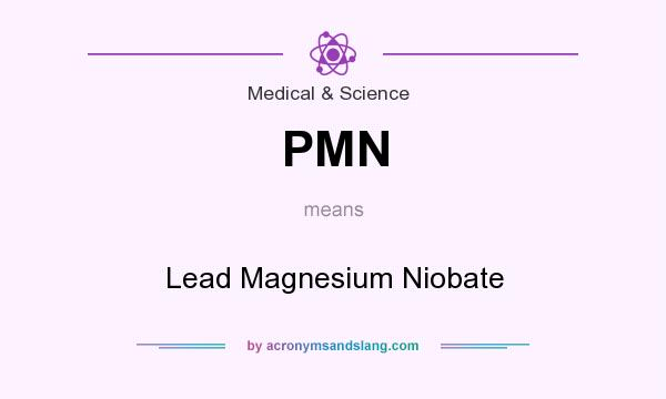 What does PMN mean? It stands for Lead Magnesium Niobate
