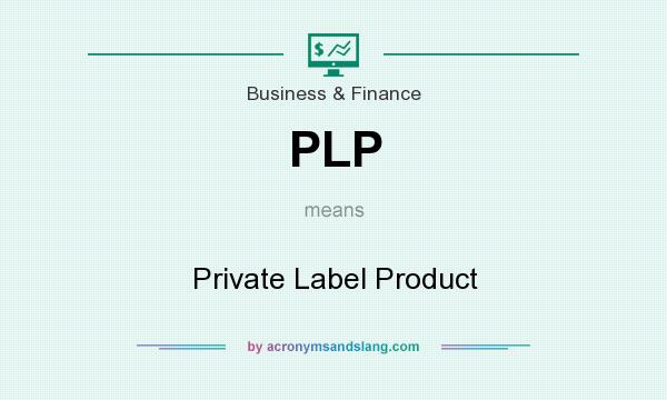 What does PLP mean? It stands for Private Label Product
