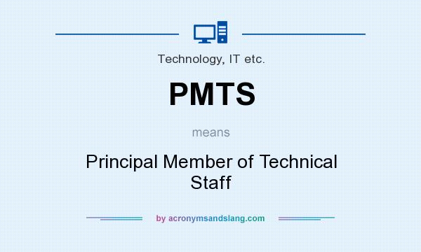 Pmts Principal Member Of Technical Staff In Technology It Etc By