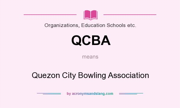 What does QCBA mean? It stands for Quezon City Bowling Association