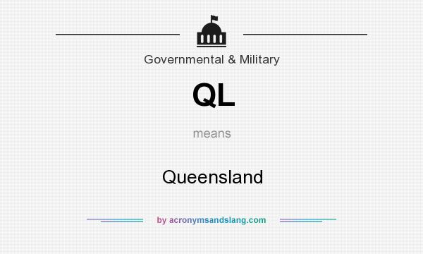 What does QL mean? It stands for Queensland