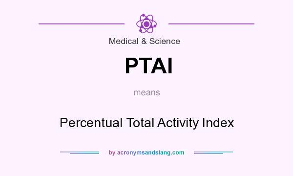 What does PTAI mean? It stands for Percentual Total Activity Index