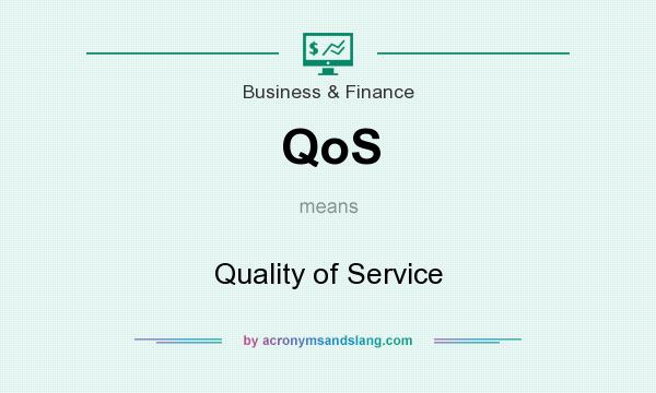 What does QoS mean? It stands for Quality of Service