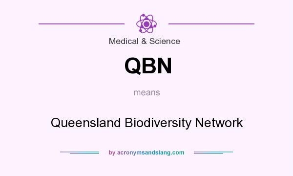 What does QBN mean? It stands for Queensland Biodiversity Network