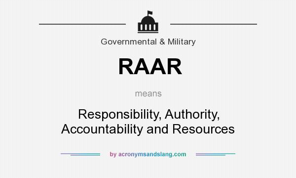 authority accountability responsibility