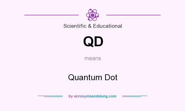 What does QD mean? It stands for Quantum Dot
