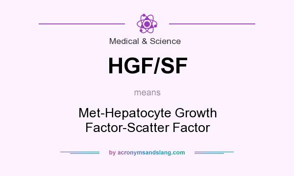 What does HGF/SF mean? It stands for Met-Hepatocyte Growth Factor-Scatter Factor