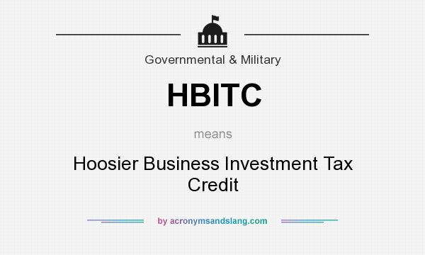 Define investment tax credit – Define Business Investment