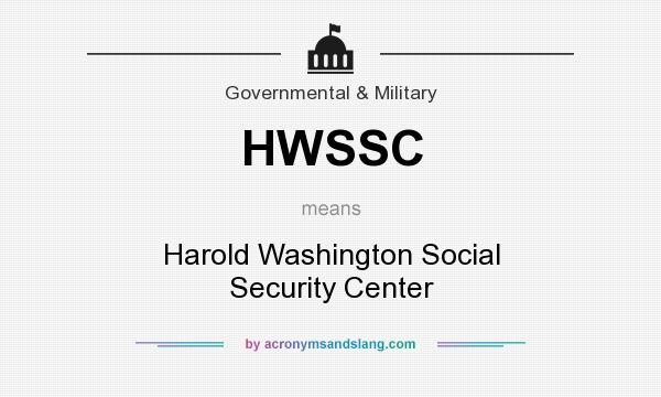 What does HWSSC mean? - Definition of HWSSC - HWSSC stands