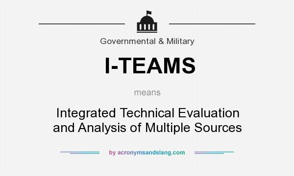 What Does ITeams Mean  Definition Of ITeams  ITeams Stands For