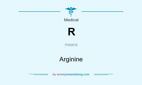 What does R mean? It stands for Arginine