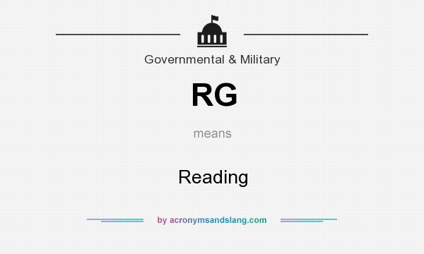 What does RG mean? It stands for Reading