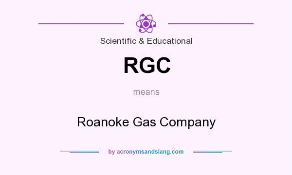 What does RGC mean? It stands for Roanoke Gas Company