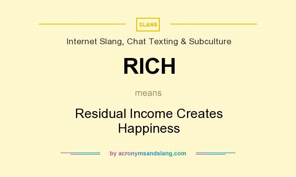 residual income what does it mean