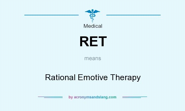 rational emotive therapy ret