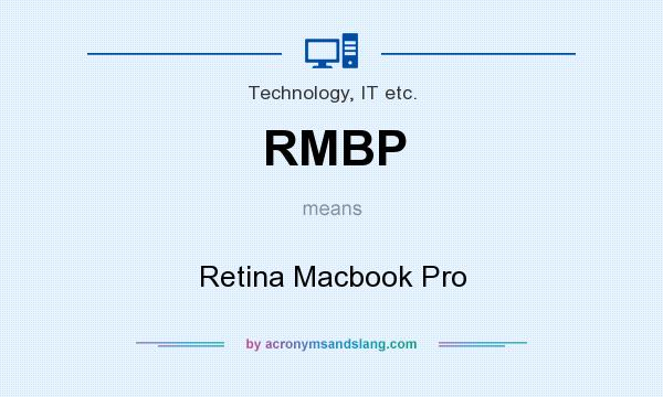 What does RMBP mean? It stands for Retina Macbook Pro