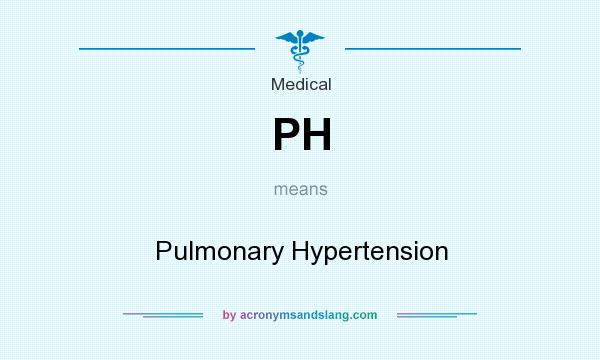 Medical abbreviation ph