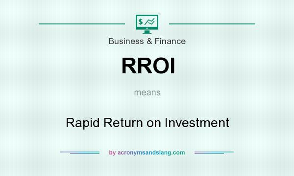 operating income return on investment