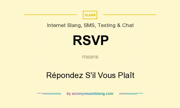 Rsvp r pondez s il vous pla t in governmental military for Rsvp stand for on an invitation