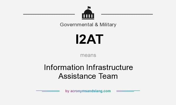 What does I2AT mean? It stands for Information Infrastructure Assistance Team