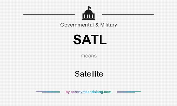 What does SATL mean? It stands for Satellite