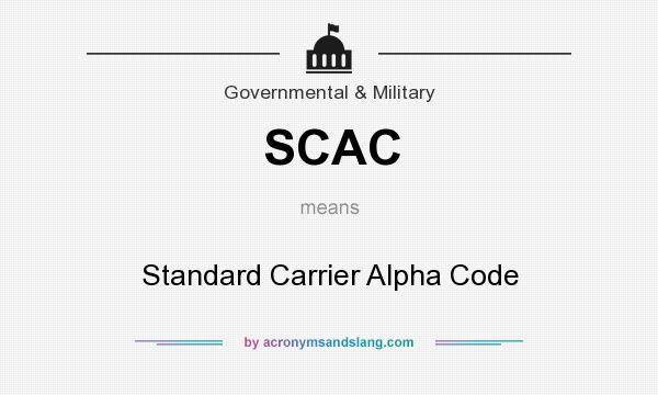 how to get a scac code