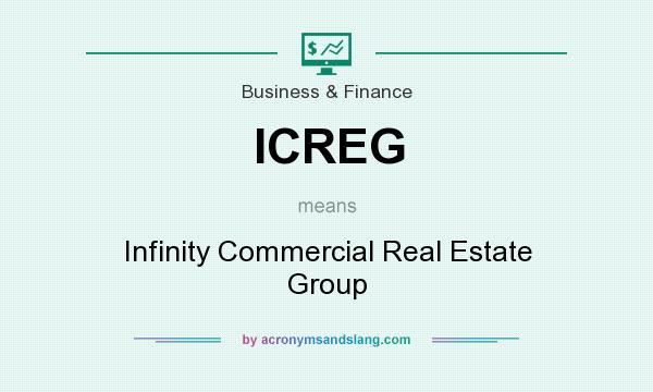 What does ICREG mean? It stands for Infinity Commercial Real Estate Group