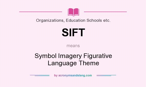 Sift symbol imagery figurative language theme in for What does diction mean