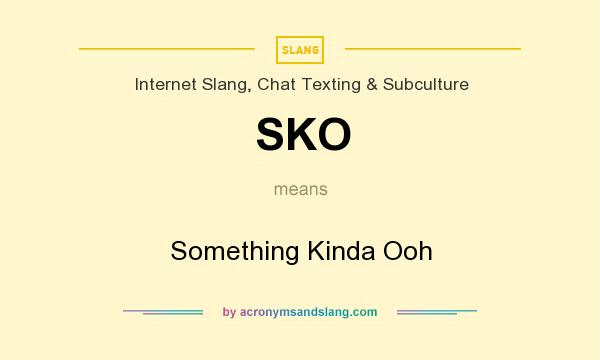 Ooh meaning in chat