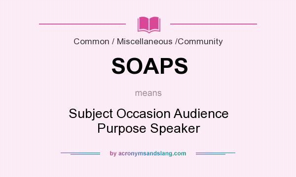 soaps essay