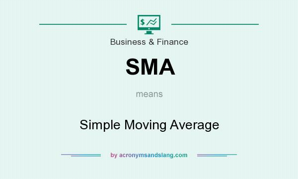 What does SMA mean? It stands for Simple Moving Average