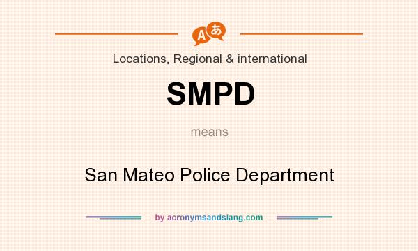 SMPD - San Mateo Police Department in Locations, Regional