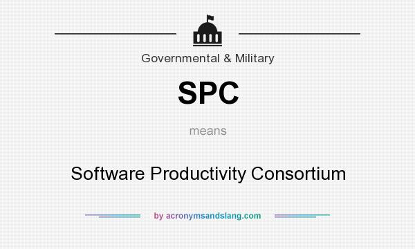 What does SPC mean? It stands for Software Productivity Consortium