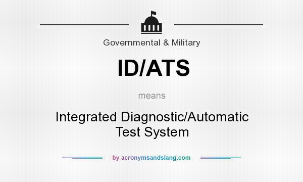 What Does Ats Mean >> What Does Id Ats Mean Definition Of Id Ats Id Ats