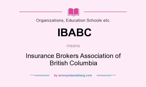 Meaning of insurance broker