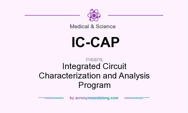 What does IC-CAP mean? It stands for Integrated Circuit Characterization and Analysis Program
