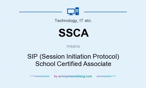 SSCA - SIP (Session Initiation Protocol) School Certified Associate ...