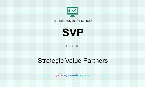 Strategic value partner